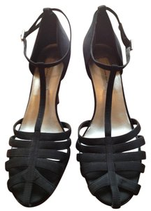 Anne Klein Black Satin Formal