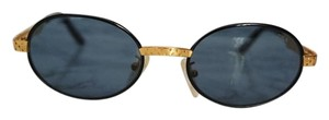 Fila NEW Fila Vintage Mod 8004 Black Gold Rare Sunglasses