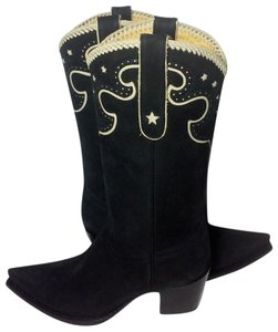 Liberty Boot Co. Co. Cowgirl Cowgirl 7.5 Women 7.5 Black Boots