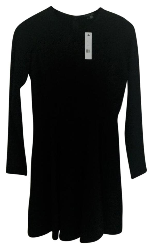 bd4397e6fa2 Theory Black Long Sleeve Above Knee Short Casual Dress Size 8 (M ...