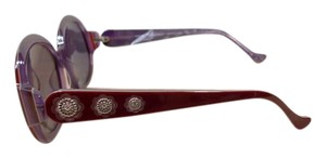 Cynthia Rowley $119 NEW CYNTHIA ROWLEY BURGUNDY ROUND SUNGLASSES