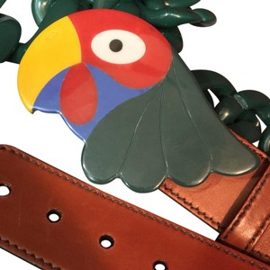 Prada Prada Parrot Belt And Multi Accessory Necklace. Limited Edition