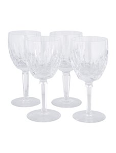 Waterford WATERFORD CRYSTAL 4 GOBLETS