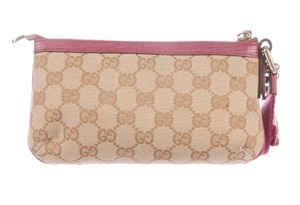Gucci Brown tan Guccissima canvas Gucci pochette