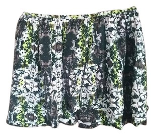 Vera Wang Skirt Green and Black