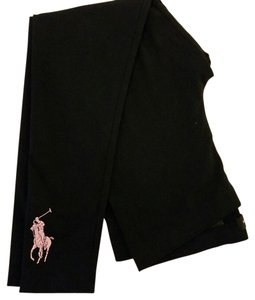 Ralph Lauren Stretchy Elastic Machine Washable Black Leggings