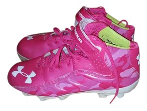 Under Armour Pink,white Athletic