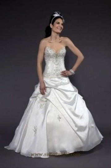 Liz Fields Ivory 9153 Wedding Dress Size 6 (S)