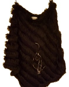 Baby Phat Rabbit Fur Stretchy Cape