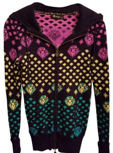 Tokidoki Hooded Cotton Longsleeve Stretchy Sweater