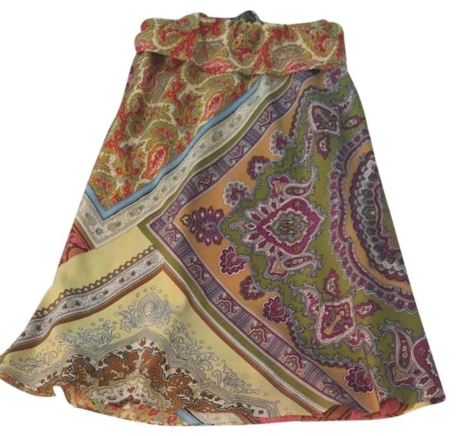 Alice & Trixie Skirt Purple Pink Brown Green Yellow Orange Red