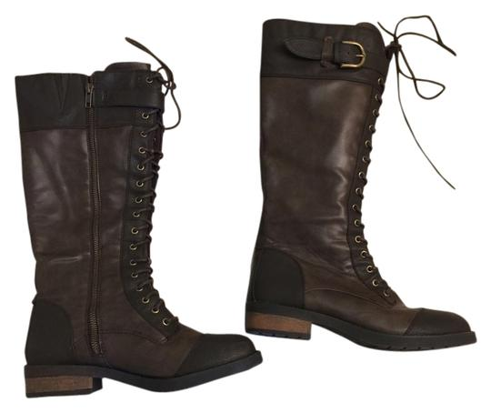 Preload https://item3.tradesy.com/images/white-mountain-brown-lace-up-zipper-combat-bootsbooties-size-us-85-1999432-0-0.jpg?width=440&height=440