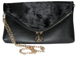 MarEle Chain Fur Faux Fur Cross Body Bag
