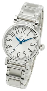 Coach Coach Madison Quartz Ladies Sliver Tone Fashion Bracelet Watch