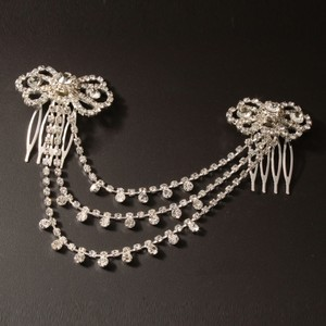 Rhinestone Chandelier Style Wedding Bridal Hair Comb Pins