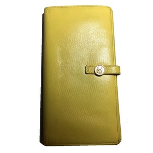 Chanel Yellow Chanel Wallet