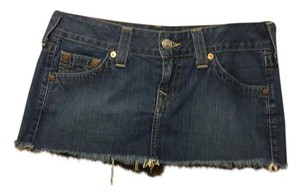 True Religion Mini Skirt Denim