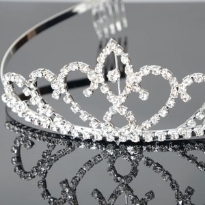 Regal Wedding Crown Bridal Tiara