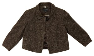 Banana Republic brown tan tweed Jacket