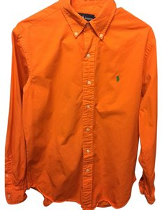 Polo Ralph Lauren Button Down Shirt Orange