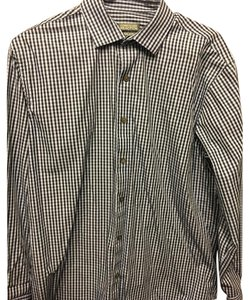 Kenneth Cole Reaction Button Down Shirt Black