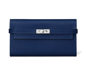 Hermès Blue Clutch