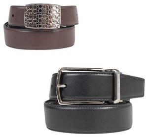 Coach Coach Men's Buckle Reversible Belt One Size Fit All W/Gift Box