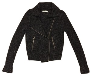 Abercrombie & Fitch black and white tweed Jacket