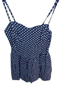 H&M short dress Navy Blue And White on Tradesy