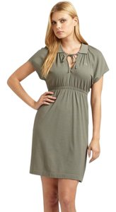 Lacoste short dress army green on Tradesy