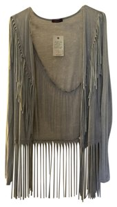 T Party Fashion Fringe Sweater