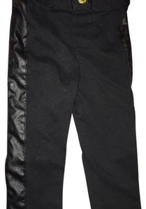 OshKosh B'gosh Black & Leather Leggings