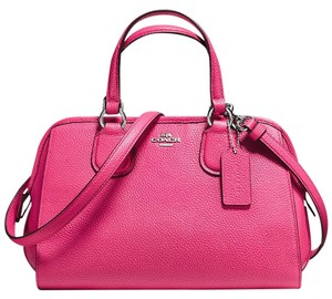 Coach Nolita Demi Blue 33735 Satchel in pink dahlia
