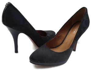 Coach Caya Black Pumps