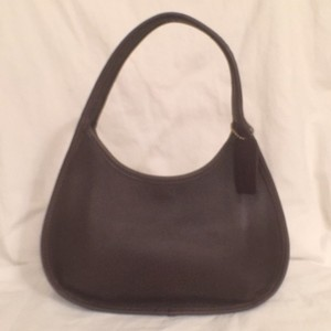 Coach Vintage Hobo Leather Handbag Shoulder Bag