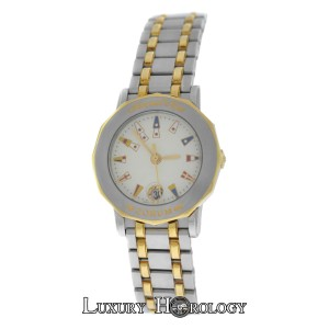 Corum Mint Ladies Corum Admirals Cup 39.130.21 18K Gold Steel Date 27MM