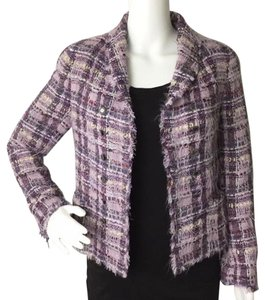 Chanel Purple Blazer