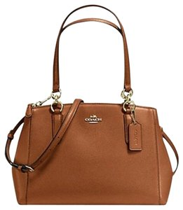 Coach Christie Crossbody Swingpack Satchel in Saddle