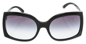 BVLGARI Bvlgari Black Crystal Embellished Sunglasses