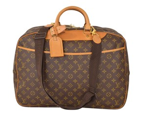 Louis Vuitton Lv Alize 24 Alize 24 Brown Travel Bag