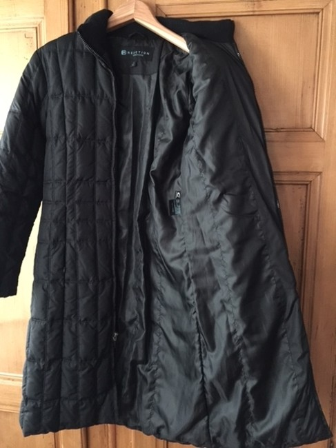 Kenneth Cole Down Quilted Knee Length Vintage Coat