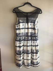 Bar III short dress Black/ White/ Gray on Tradesy