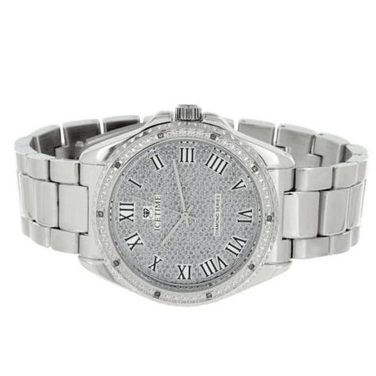 Preload https://item2.tradesy.com/images/icetime-mens-real-diamond-luxury-style-roman-numeral-dial-watch-19997161-0-0.jpg?width=440&height=440