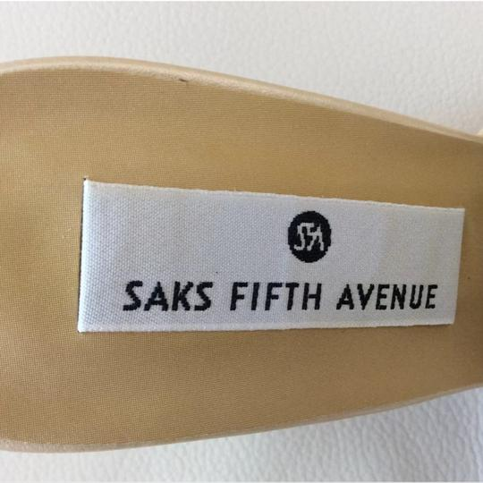 Saks Fifth Avenue Pearl Mules