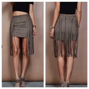 Other Mini Skirt Gray