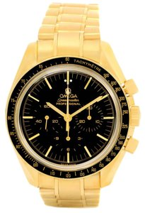 Omega Omega Speedmaster Moonwatch 18K Yellow Gold Watch 3195.50.00
