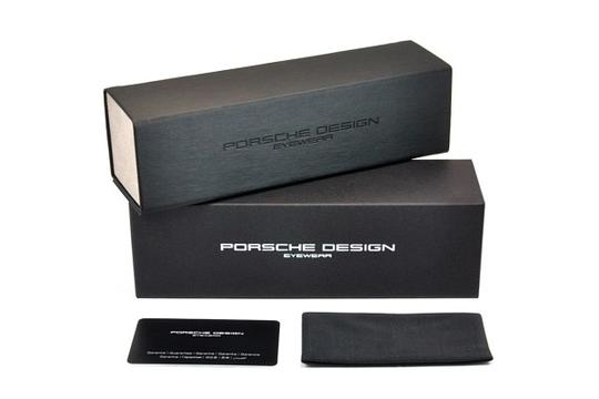 PORSCHE DESIGN Porsche Design 8607 Sunglasses P8607 Black (A) Authentic