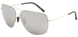 PORSCHE DESIGN Porsche Design 8607 Sunglasses P8607 Light Gold (B) Authentic