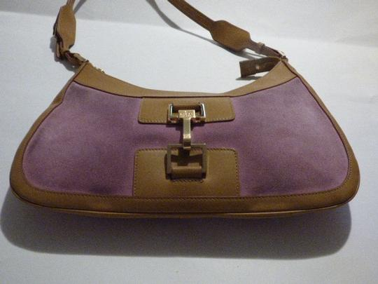 Gucci Bold Gold Accents High-end Bohemian Tom Ford Jackie O Excellent Vintage Rare Body Hobo Bag