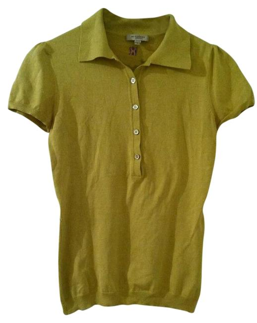 Preload https://item1.tradesy.com/images/burberry-london-yellow-blouse-size-4-s-19997700-0-1.jpg?width=400&height=650